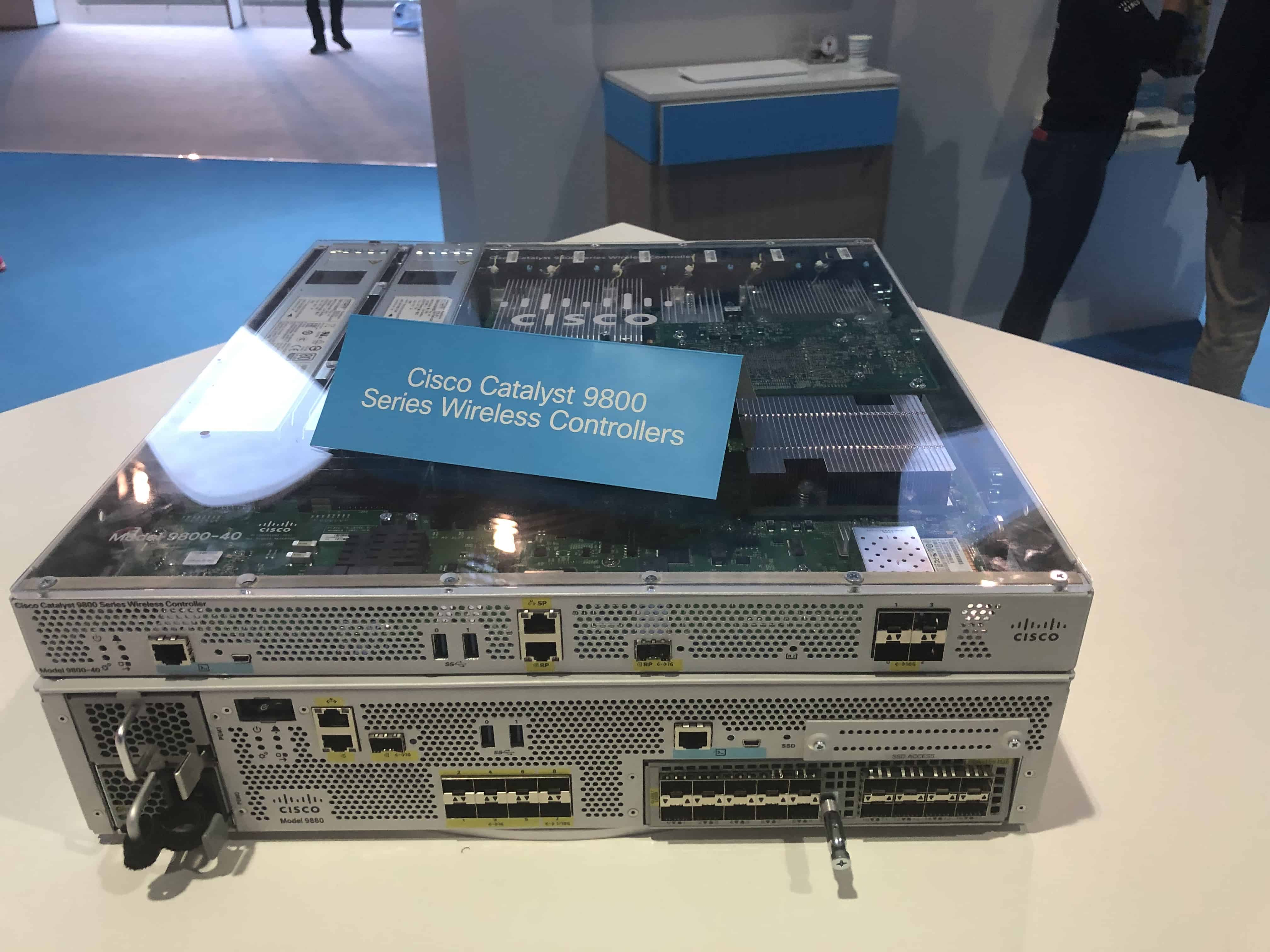 Catalyst 9800 Wireless Controllers
